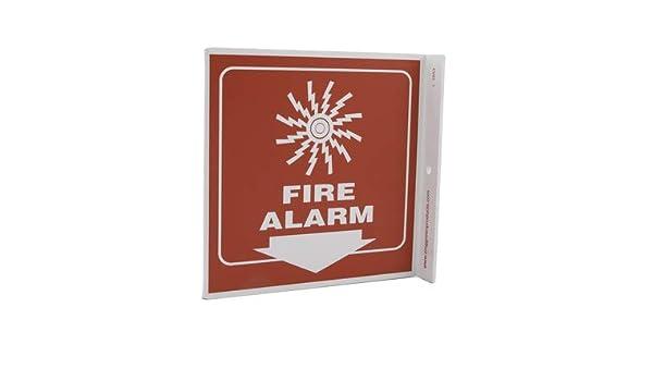 ZING 2553 Señal de proyección L, alarma de incendio, 7Hx2 ...