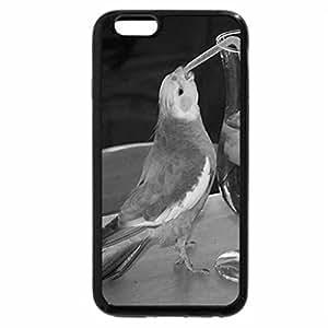 iPhone 6S Plus Case, iPhone 6 Plus Case (Black & White) - Thirsty