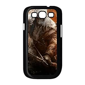 assassins creed 3 connor 2 Samsung Galaxy S3 9300 Cell Phone Case Black yyfD-065093