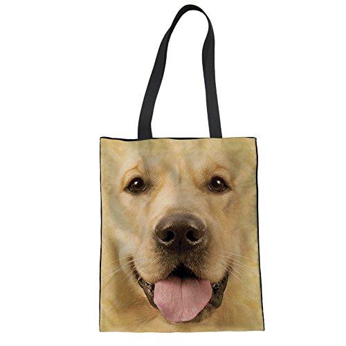Nopersonality Cabas pour femme Dog Face Print