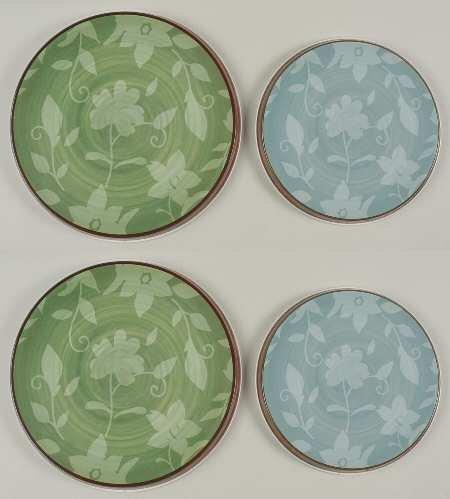 Pfaltzgraff Patio Garden Burner Covers, Set of 4 (Pfaltzgraff Burner Covers)