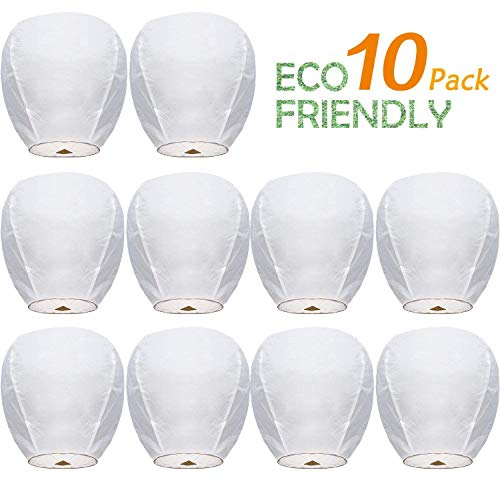 Chinese Paper Flying Sky Lanterns Wire-Free Flying 100% Biodegradable- for Wedding, Christmas, Memorial, Party Wish