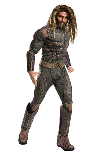 Flash Costume Review (Rubie's Costume Co. Men's Aquaman Adult Deluxe Costume, As Shown, Standard)