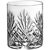 Barski - Set of 4 - Hand Cut - Mouth Blown - Crystal - DOF - Double Old Fashioned Tumblers - 14oz. - Made in Europe - Set of 4