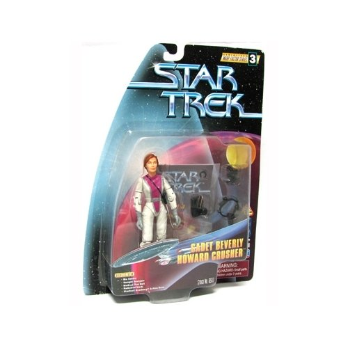 Star Trek The Next Generation: Warp Factor Series 3 Cadet Beverly Howard Crusher 4 inch Action Figure