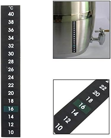 Queenwind を発酵するための液晶温度計ビール醸造酒10-40 度