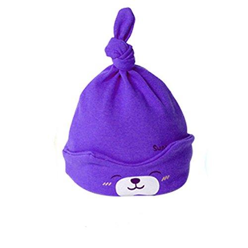 [iceko Baby Caps Cute Autumn Cartoon Headwear baby caps Newborn 0-3 months] (Newborn Lion Costume 0-3 Months)