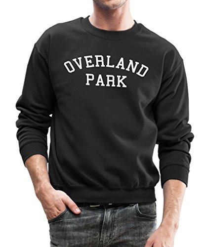 MPGiS - Overland Park Crewneck Sweatshirt by Spreadshirt, M, black