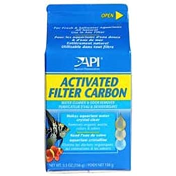 API ACTIVATED FILTER CARBON Aquarium Filtration Media 5.5-Ounce Box