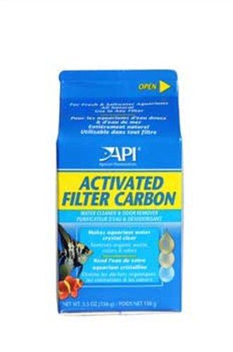 API ACTIVATED FILTER CARBON Aquarium Filtration Media 5.5-Ou