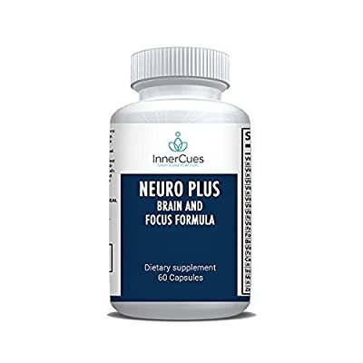 InnerCues Neuro Plus Brain and Focus - Dietary Supplement - 60 Caps