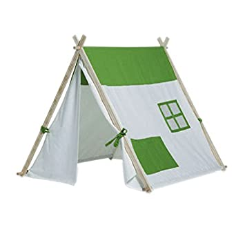 Buitenspeel Triangle Tent (White/Green)  sc 1 st  Amazon UK & Buitenspeel Triangle Tent (White/Green): Amazon.co.uk: Toys u0026 Games