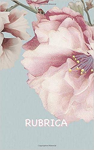 Immagini Di Fiori E Nomi.Rubrica Rubrica Fiore Di Ciliegio Con Abbastanza Spazio Per 150
