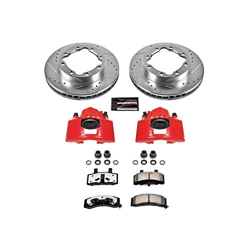 Power Stop KC1524-36 Front Z36 Truck and Tow Brake Kit with Caliper
