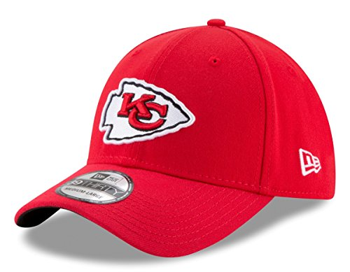 NFL Kansas City Chiefs Team Classic 39THIRTY Stretch Fit Cap, Large/X-Large, Red ()