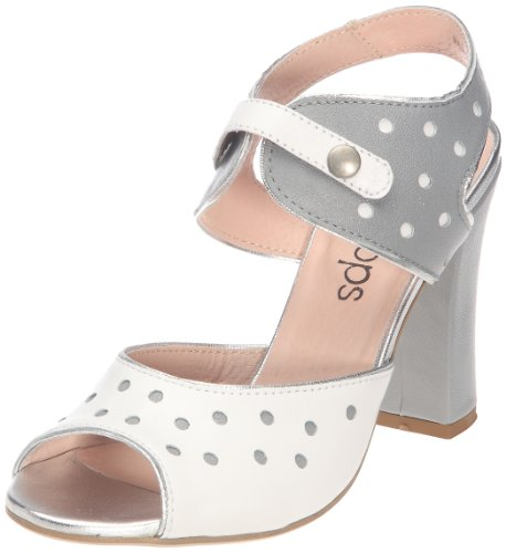 Lollipops Mystere Leather High Sandal 16319 - Sandalias para mujer Gris