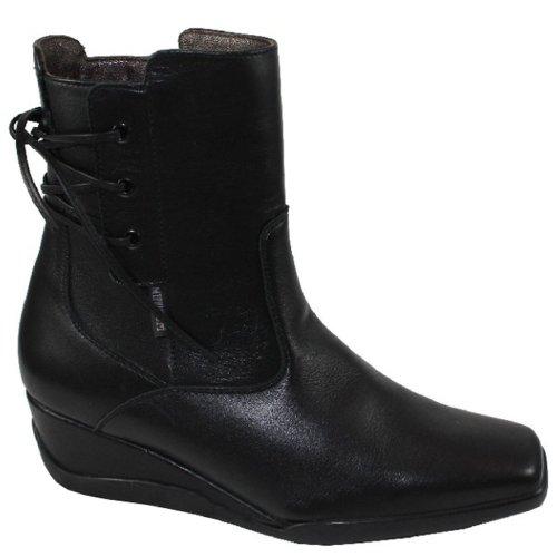 Mephisto-Chaussure Bottine-TANAZIA Noir cuir-Femme
