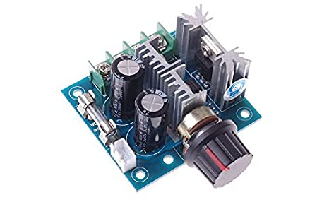 12V-40V 10A pulse width modulation PWM DC motor speed control  Q
