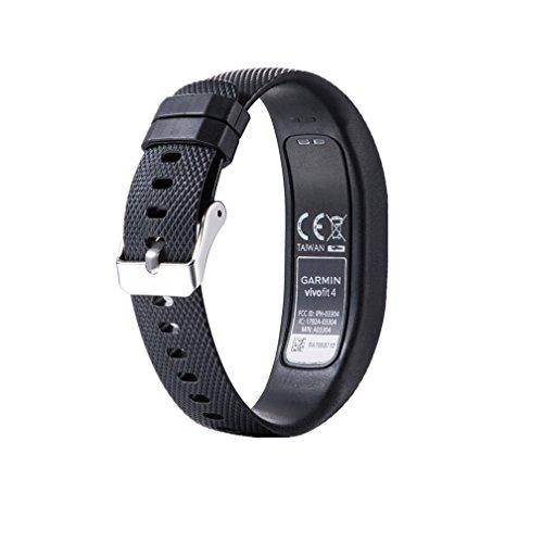 Bracelet de Remplacement pour Garmin Vivofit 4, Meiruo Strap Bracelet pour Garmin Vivofit 4