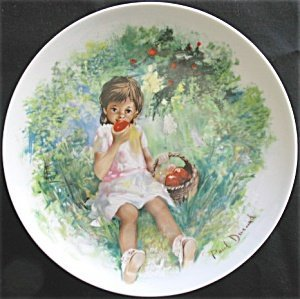 Marie-Ange Collector Plate