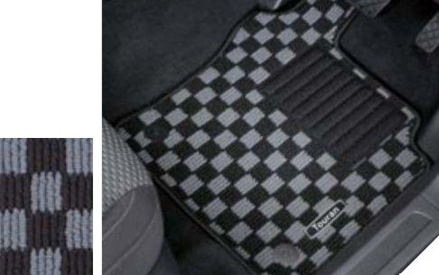 Volkswagen / フォルクスワーゲン / VW純正アクセサリー フロアマット チェック GOLF TOURAN/ゴルフ トゥーラン B01MG4BRMU  - -