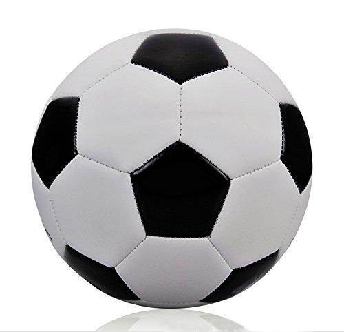VT BigHome Classic Black White Standard Soccer Ball Size 5 Training Voetbal Bal Germany Spain Football France 2017 futbol by VT BigHome