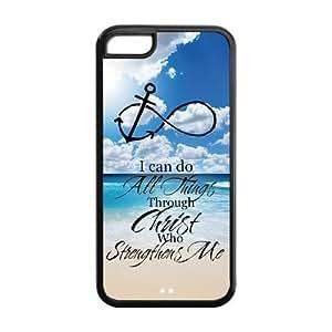 diy phone caseHot Bible Verse sandy beach blue sea infinity anchor iphone 5/5s case Designed by HnW Accessoriesdiy phone case