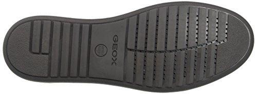 Geox Uomo Rikin, Zapatillas para Hombre Gris (Anthracite C9004)