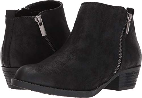 Carlos by Carlos Santana Women's Brianne Ankle Boot,Black Synthetic,US 7.5 M from Carlos by Carlos Santana