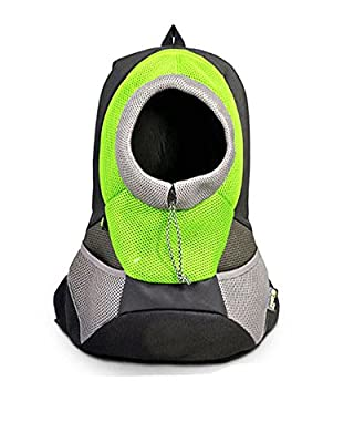 Surblue Portable Dog Backpack Front Pack Mesh Pouch for Puppy Cat Pet Carrier for Bike Hiking Outdoor Adjustable Shoulder Strap 4 Colors by Surblue