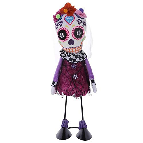 Party DIY Decorations - Halloween Swing Skull Soft Stuffed Filling Cotton Cloth Dolls Toy Creative Party Prom Costume Props - Party Decorations Party Decorations Dress Halloween Decor Skull G -