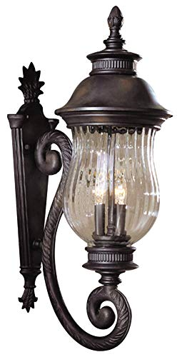 - Minka Lavery Minka 8901-94 European Influence Three Light Wall Mount from Newport Collection in Bronze/Darkfinish 3 Outdoor, Upc-747396010762
