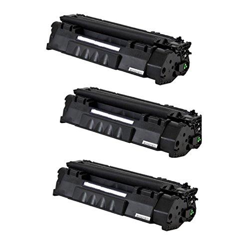 (Generic 3 Pack CE505A (05A) Compatible Toner Cartridge For HP Laser Jet P2035, P2035n, P2055, P2055d, P2055dn, P2055x Printers)