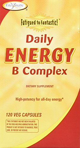 Enzymatic Therapy - Fatigued to Fantastic! Daily Energy B Complex - 120 Vegetarian Capsules by Enzymatic Therapy by Enzymatic Therapy