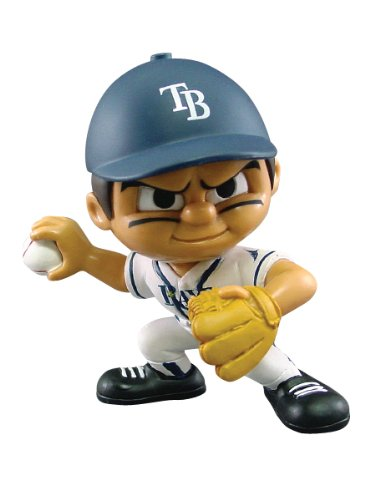 Party Animal Toys Lil' Teammates Tampa Bay Rays Pitcher MLB Figurines