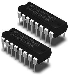 Texas Instruments SN74HC595N IC 8-Bit Sh...
