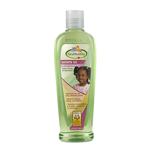 Sofn'Free n'Pretty GroHealthy Growth Oil 8.8 oz Single
