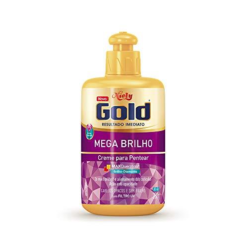 Gold Creme Pentear Brilho Niely