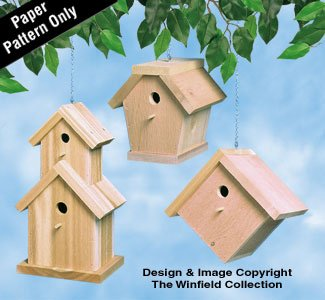 (Cedar Birdhouses Woodworking Plans)