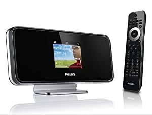 Philips Streamium Network Music Player NP2500/12 - Reproductor/sintonizador (eAAC+,FLAC,MP3,WMA, 8 - 320 Kbit/s, CBR/VBR, Wireless LAN(802.11g), Wireless LAN(802.11b), LCD, 110 - 240V / 50 Hz)