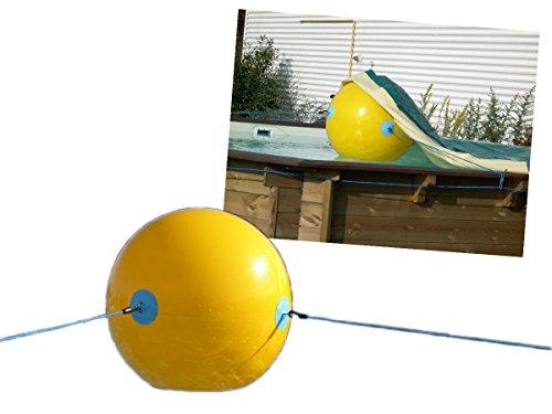 Abdeckhilfe für Abdeckplane - Ball für Poolabdeckung - Unterbau Poolabdeckplane