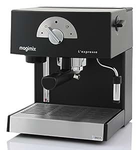 Magimix L'Expresso, Negro, 1260 W, 50/60 Hz, 220-240 V