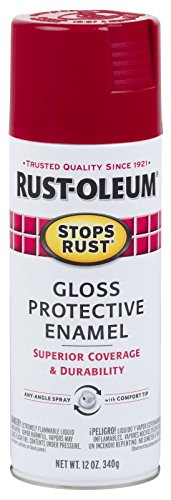 Price comparison product image Rust-Oleum 7765830 Stops Rust Spray Paint,  12-Ounce,  Gloss Regal Red