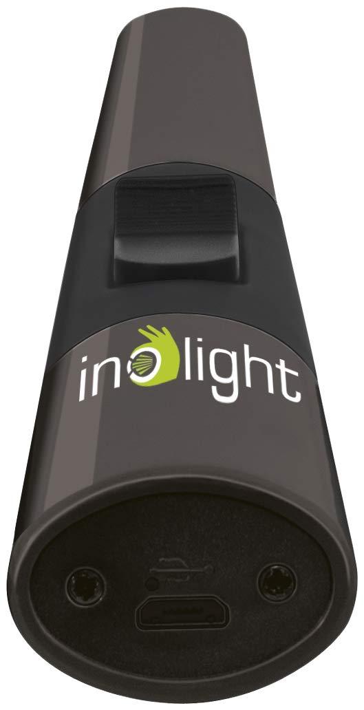 Inolight 555-300 CL 3 Lichtbogenfeuerzeug Zinklegierung silber