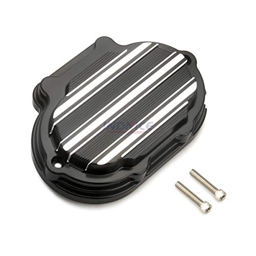 Black Gauge Transmission Side Cover For Harley FLHTCU FLHTK FLHTKSE FLHX FLHXS FLHTCUTG 2014-2016
