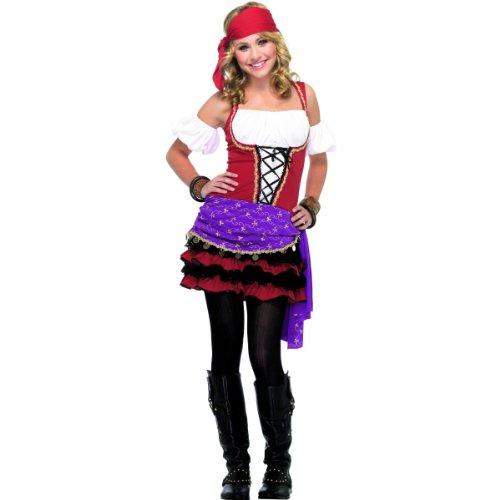 Crystal Ball Gypsy Teen/Junior Costume - Teen -