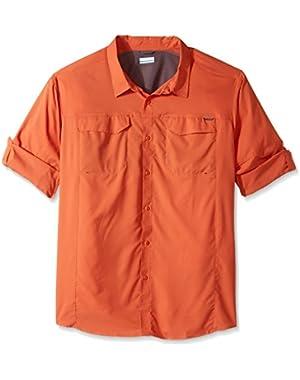 Men's Big-Tall Silver Ridge Lite Long Sleeve Shirt, Tuscan, 3XT
