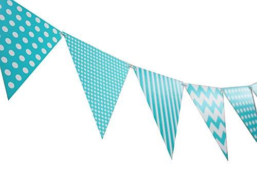 Quasimoon Pattern Triangle Decoration PaperLanternStore