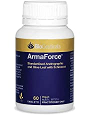 BioCeuticals ArmaForce Andrographis Echinacea Olive Leaf Vitamin C Zinc 60 Tablets