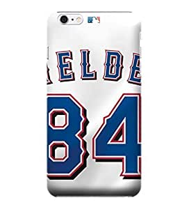 Diy Best Case iPhone 6 case covers, MLB - Texas Rangers Prince Fielder GLCMiA7Th8s #84 - iPhone 6 case covers - High Quality PC case cover